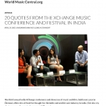 World Music Central - April' 15 Page 1
