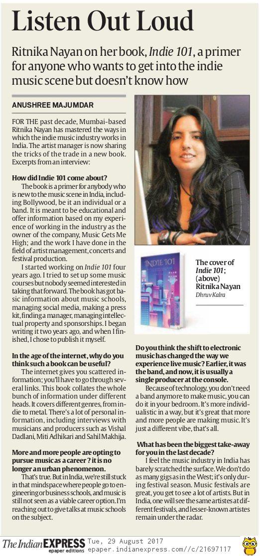 Indian Express Pune - Aug'17