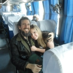 Ron 'Bumblefoot' Thal with his Wife Jennifer